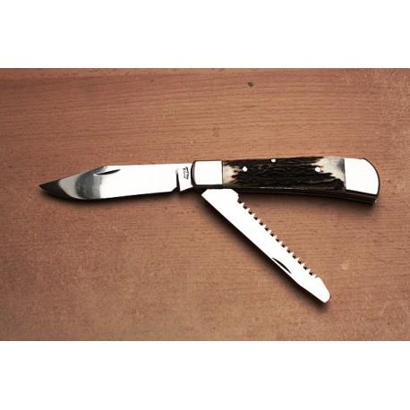 Zavírací nůž s pilkou