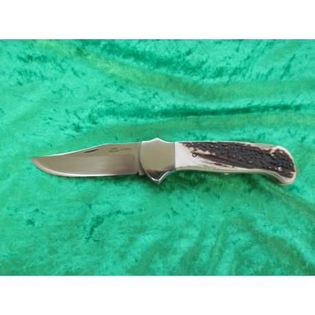 Velký zavírací lovecký nůž s pilkou
